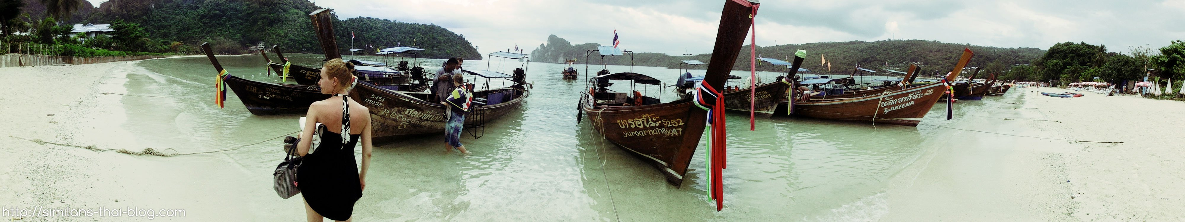 longtail-boats-phi-phi-don-beach