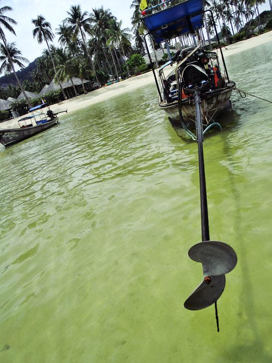 Tai Longtail Boat