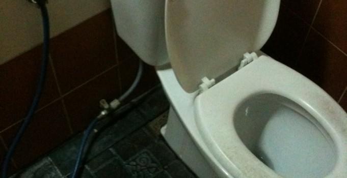 Toilettenbenutzung in Thailand