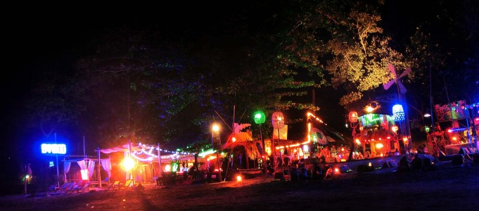 Party auf Ko Phi Phi Don