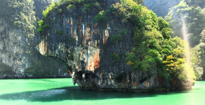 Kajak in Phang Gna