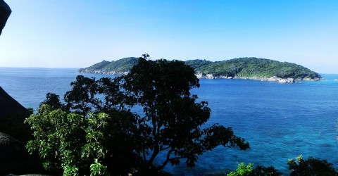 Aussichtsplattform Koh Similan – Sail Rock