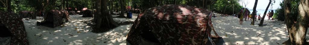 Camping Zelte auf Similan Island