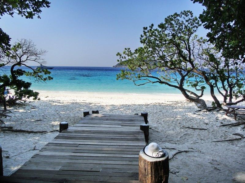 Strand der Similan Island Nr. 4